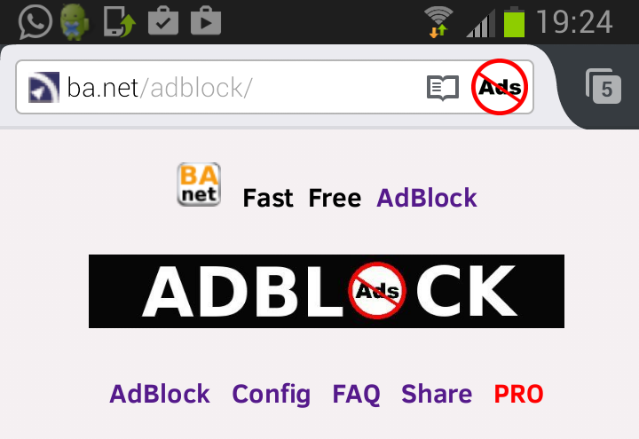 how to put add block on chrome